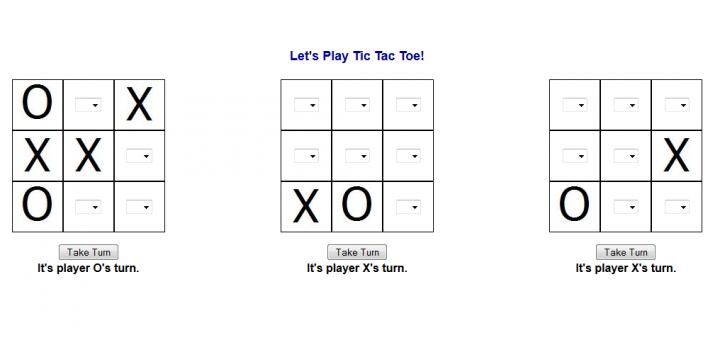 multi instance tic tac toe